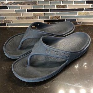 Men's crocs thongs sandals medium